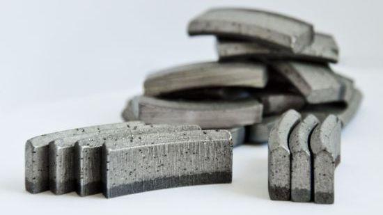сегменты для восстановления алмазных коронок